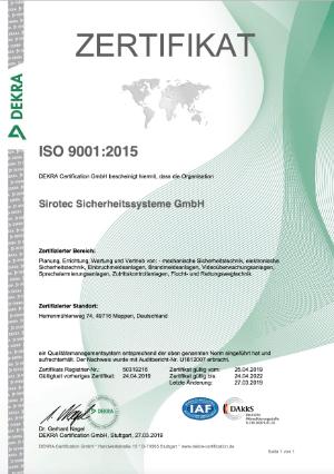 Sirotec_Zertifikat_ISO9001