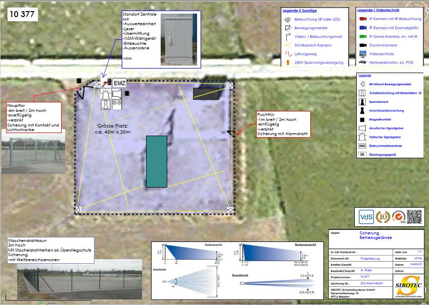 Objektüberwachung – Sirotec Sicherheitssysteme GmbH